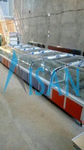 خرید یخچال فریزر ویترینی