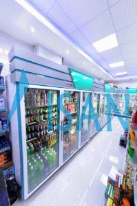 یخچال ایستاده فروشگاهی