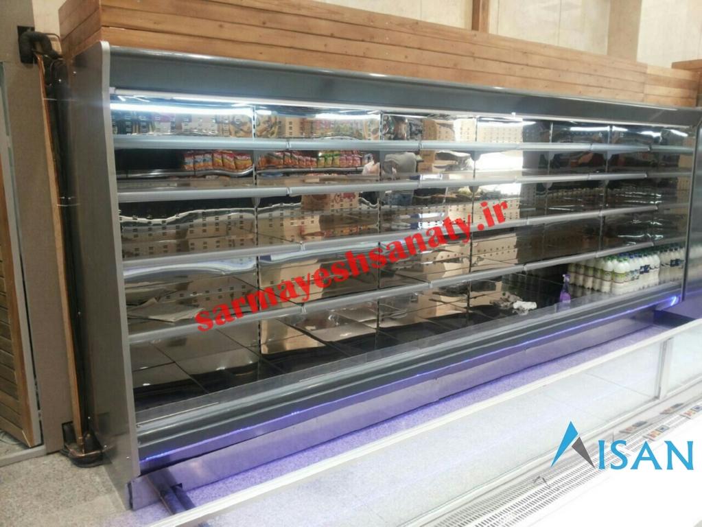قیمت یخچال روباز فروشگاهی دست دوم